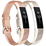 Tobfit Fitbit Alta Band Alta HR Bracelet Replacement en TPU Confortable Réglable...