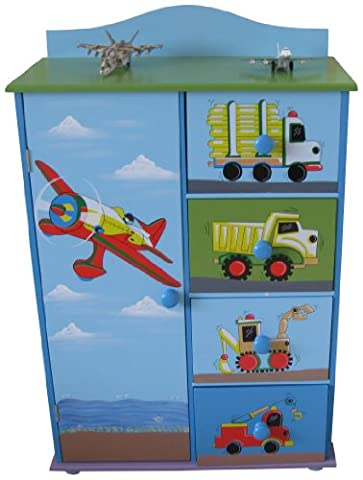 Liberty House Toys Transport Cabinet and Drawers