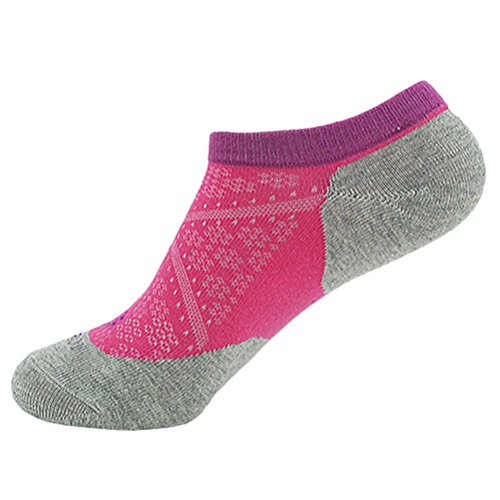 Zhhlaixing Unisex No Show Socks,Sports Running Socks,Breathable Rose red