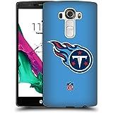 Official NFL Plain Tennessee Titans Logo Hard Back Case for LG G4 / H815 / H810