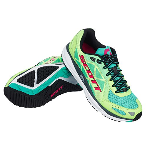Scott running Zapatilla ws palani trainer-green/pink-6,5 usa