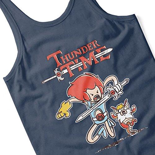 The Legend Of Zelda Thunder Time Women's Vest Navy blue