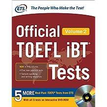 Official TOEFL iBT?de?ed??ede??d???de?ed???de??d??? Tests Volume 2 by Educational Testing Service (2016-01-11)