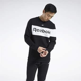 Reebok Men's Te Ll Flc Crew Sweatshirt