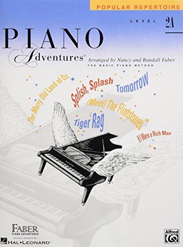 Faber Piano Adventures: Level 2A - Popular Repertoire Book