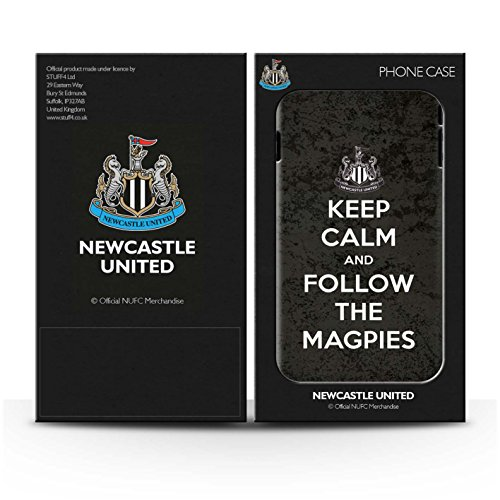 Offiziell Newcastle United FC Hülle / Glanz Harten Stoßfest Case für Apple iPhone 4/4S / Pack 7pcs Muster / NUFC Keep Calm Kollektion Folgen/Magpies