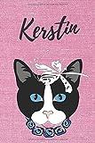 personalisiertes Notizbuch Katze / Malbuch / Tagebuch / Journal / DIN A5 /...