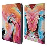 Head Case Designs Offizielle P.D. Moreno Welpen 2 Hunde Brieftasche Handyhülle aus Leder für iPad Air (2013)
