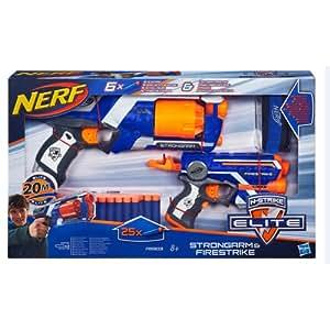 Nerf Elite - Nerf Elite Strongarm Et Firestrike
