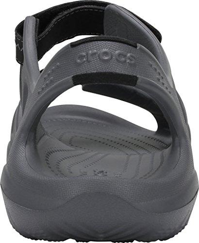 Crocs Herrenschuhe 203965 Swiftwater River Sandal M Charcoal/Black
