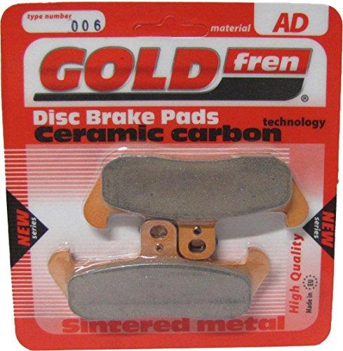 Husqvarna TE 610 Brake Disc Pads Front R/H Goldfren 1991 Husqvarna Te 610