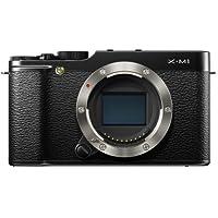 Fujifilm X-M1 kompakte Systemkamera (16 Megapixel, 7,6 cm (3 Zoll) LCD-Display, Full HD, WiFi) nur Gehäuse schwarz