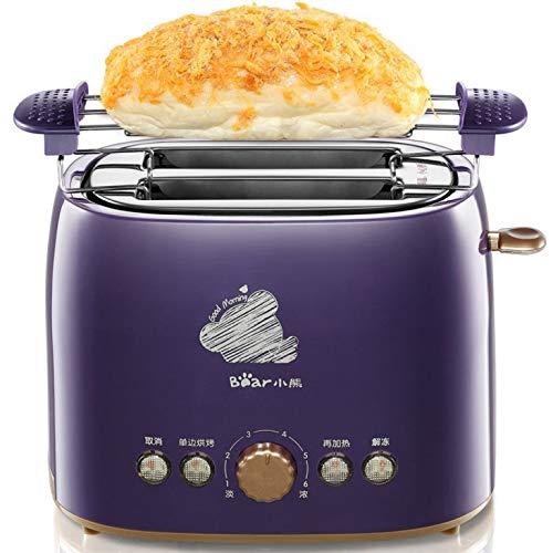 FUHUANGYB Brotbackautomat, Beschichtung, Edelstahl, für Das Frühstück
