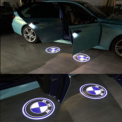 HConce Türbeleuchtung Definition Autotür Projektion LED Door Shadow Logo Licht 4 Stück