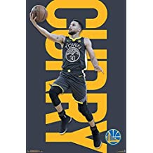 Close Up Póster NBA Golden State Warriors - Stephen Curry (56,8cm x 86
