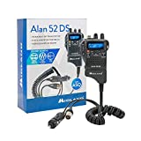 Portable CB Radio Midland Alan 52 DS Multi with Automatic Digital Squelch, Code