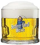 2er Set Original Berliner Kindl Weisse Klauenglas 0
