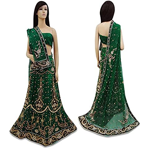 Vintage Style New India nuziale Lehenga Set
