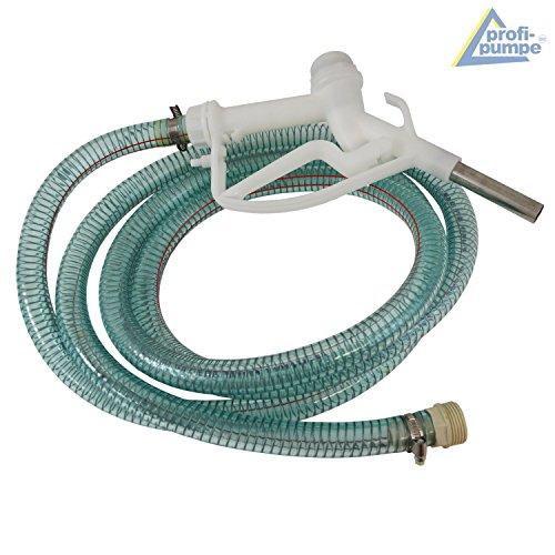 AdBlue® 230V – PUMPE AdBlue-PUMPENSET HARNSTOFF-PUMPE, mit Saug- und Druckschlauch, Zapf-Pistole und Zubehör, LEISTUNGSSTARKER ELEKTROMOTOR mit KUPFERWICKLUNG, JETZT MIT EXTRA-Ersparnis! Elektrische pumpe für DIESEL Fasspumpe - 5