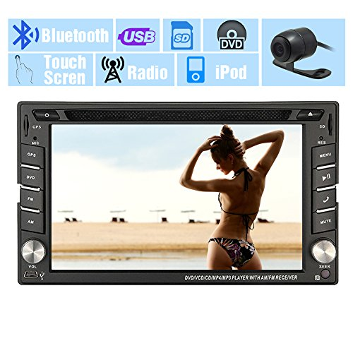 GPS SAT-Auto-DVD-Spieler Autoradio Headunit In Deck Auto-Video Autoradio Multimedia Win 8 MP3-Musik-Autoteile 2 Lärm im Schlag-Elektronik Car Stereo CD Motorized EinCar Logo Backup-Kamera
