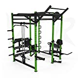 We R Sports® Power Rack Gym Crossfit Power Cage Pull Ups AB...