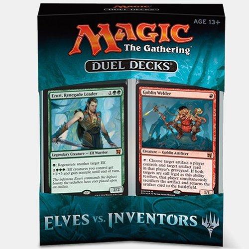 Magic the Gathering Duel Deck Spielkarten Elves vs Inventors MTG-Evl-EN