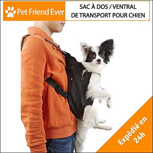 ★ petfriendever zaino/ trasportino/borsa per cani o gatto ★ alta qualita' – porta sempre con te il tuo cagnolino a fare passeggiate, shopping, o in viaggio – per tutti gli animali di piccola taglia! marchio francese