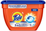 Tide Matic 3in1 PODs Liquid Detergent Pack 18 Count for Both Front Load and Top Load Washing Machines