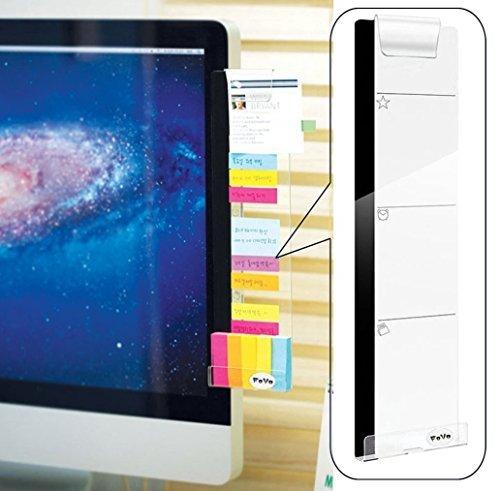 fovo Computer-Monitore Bildschirm Acryl Nachricht Boards Memo Pads