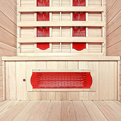 Home Deluxe | Infrarotsauna | Redsun M | Keramikstrahler | inkl. vielen Extras und komplettem Zubehör | verschiedene Varianten - 5