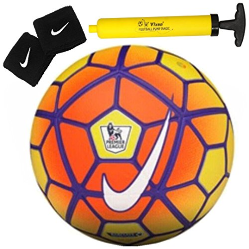 Larjonna Nike Strike Sports Soccer SC2729-790 replica Yellow Football Size 5  available at amazon for Rs.629