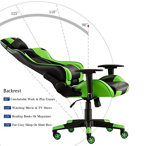 ( 0 Average / 0 Ratings )  sc 1 st  PCPartPicker & JL Comfurni Gaming Chair Chesterfield Ergonomic Swivel Office Chair ...