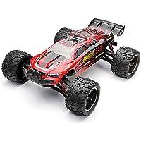 Virhuck 9116 1/12 Coche telerigido 2.4G 4CH RC Coche de Juguete 2 Ruedas de Carreras eléctricas Coche Todoterreno Motor Cepillado de Alta Velocidad-Rojo