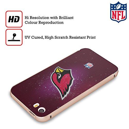 Ufficiale NFL LED 2017/18 Arizona Cardinals Oro Cover Contorno con Bumper in Alluminio per Apple iPhone 5 / 5s / SE LED
