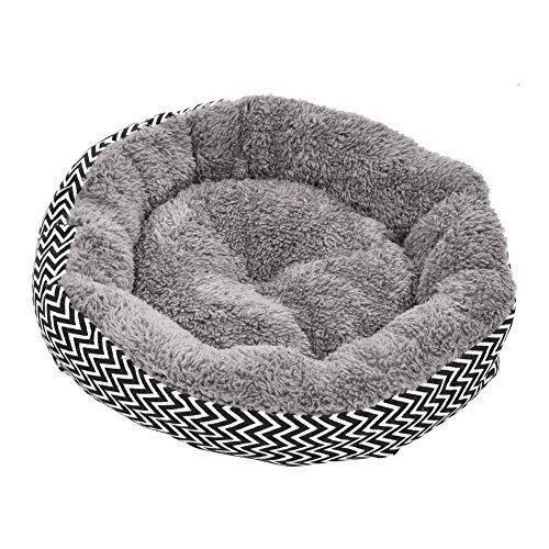 iBaste Haustier Bett für Hunde Katzen Kissen Weich Hundebett Hundeschlafplatz Katzendecke Hundematratze Tierbedarf