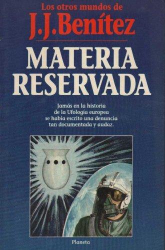 Descargar Libro Materia reservada de J.J. Benitez