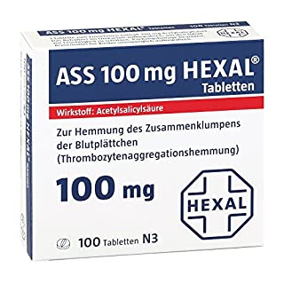 ASS 100 mg HEXAL, 100 St. Tabletten
