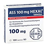 ASS 100mg HEXAL 100 stk