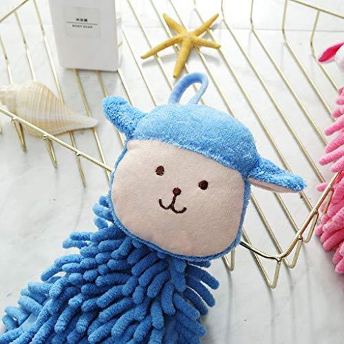 Mitlfuny Zuhause Dekoration Zum Party Hochzeit Weihnachten Festival,Baby Kindergarten Handtuch Chenille Handtuch Kleinkind Weichem Plüsch Cartoon Tier Abwischen