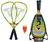 Talbot Torro Speed 4000 Badminton Set, Nero/Verde