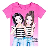 Top Model Mädchen T-Shirt, pink, rosa Größe 152, 12 Jahre