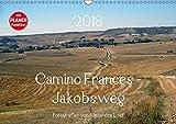 Camino Frances - JakobswegAT-Version (Wandkalender 2018 DIN A3 quer): Unterwegs am Jakobsweg von St. Jean-Pied-de-Port nach Santiago de Compostela ... [Kalender] [Apr 01, 2017] Luef, Alexandra - Alexandra Luef