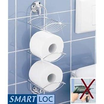 Wenko Smart-Loc Toilettenpapierhalter - Wc Rollenhalter Ohne