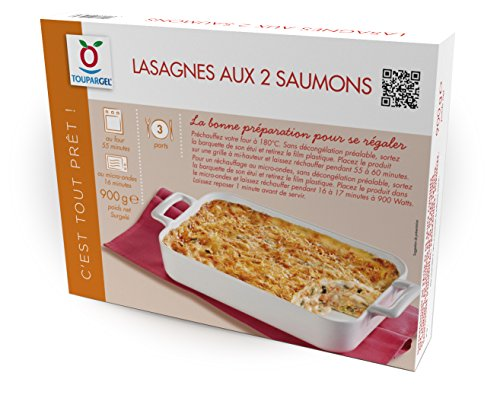 Toupargel Lasagnes aux 2 Saumons 900 g Surgelé