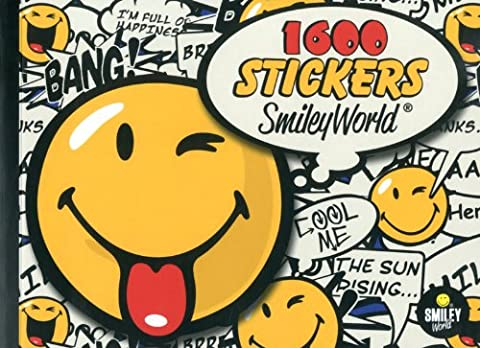 SMILEY 1 600 stickers