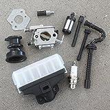 AISEN Vergaser 1123-120-0605 für Stihl MS230 MS230C MS250 MS250C Kettensäge Ersetzt Walbro WT-215