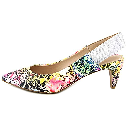French Connection Kourtney Femmes Toile Talons Multicolore