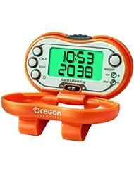 Oregon Scientific Schrittzähler mit Kalorienrechner, orange, PE 326CA