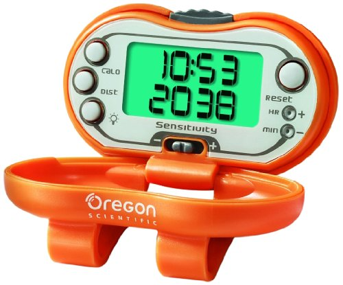 Oregon Scientific PE326Ca - Podómetro Digital Reloj