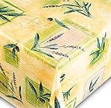 Friedola Wachstuchtischdecke Trend - Vlies Rückseite - Muster Lavender Made IN Germany (160x220cm)